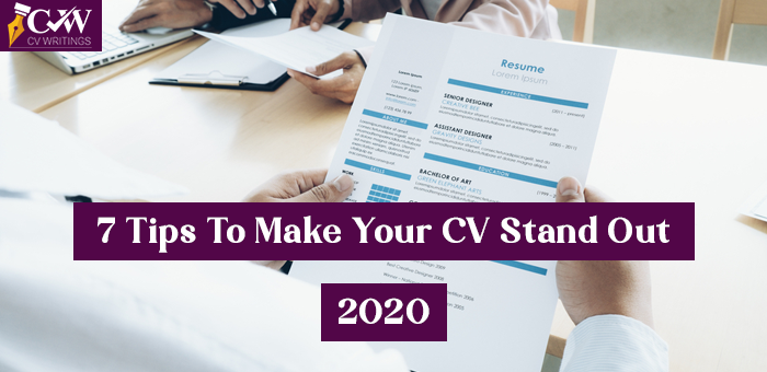 Tips to Make Your CV Stand Out for 2020