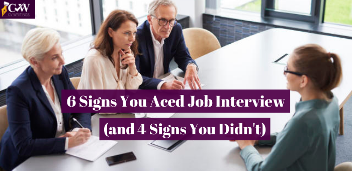 Signs You Aced Job Interview